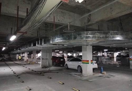 地下车库通风管道工程