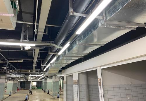 重庆通风管道-消防排烟管道工程