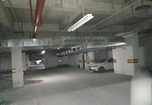 地下停车场重庆通风管道工程