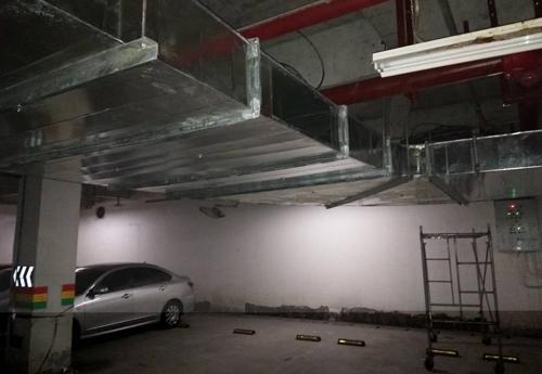 地下车库重庆通风管道工程
