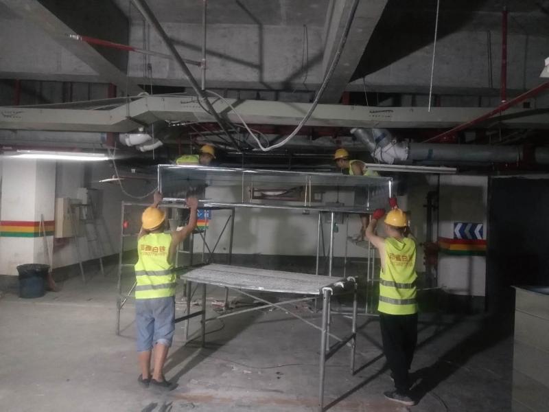 在通风管道工程中安装白铁通风管有哪些细节要注意