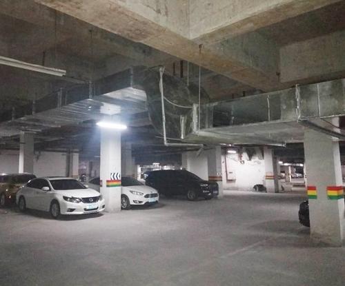 地下车库通风管道