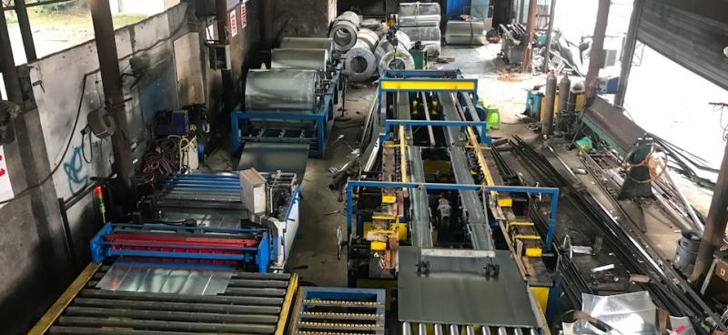 不锈钢风管的加工流程及通风管道应用范围